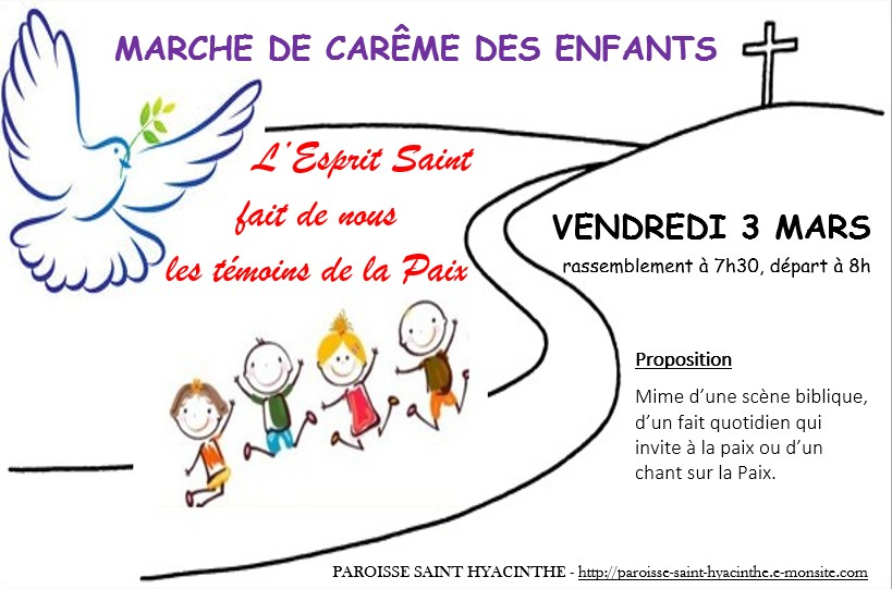 Affiche careme enfants